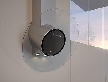 Best cookerhood Compct Disk, stainless steel, glass, Dunstabzugshaube, Edelstahl, Glas,