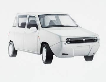 Car Renault R4 case-study
