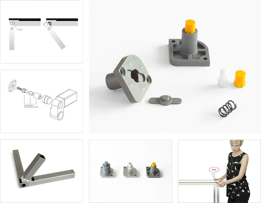 Avarte table Mina parts