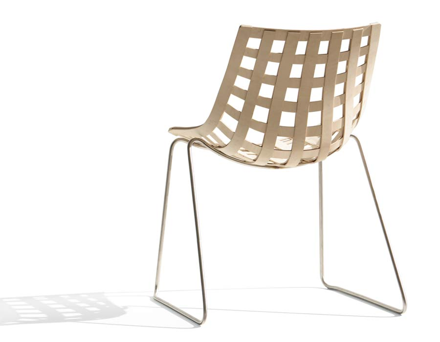 Plywood Chair Global back