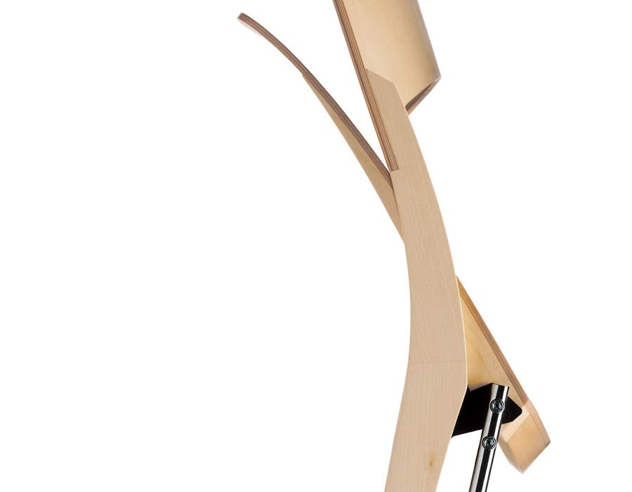 folding chair s-type folded