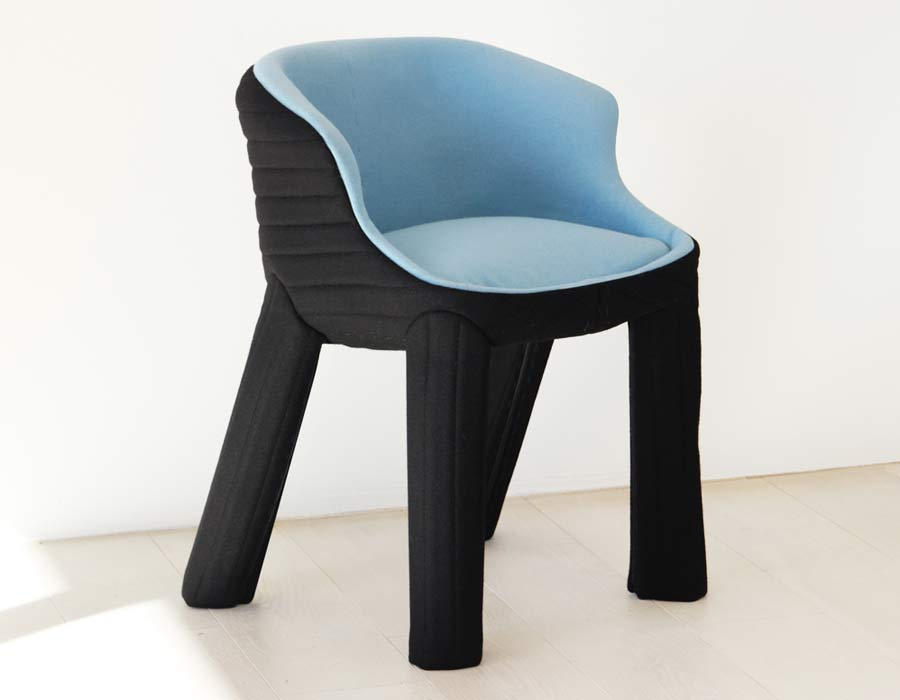 Magis easy chair Spacecoats blue