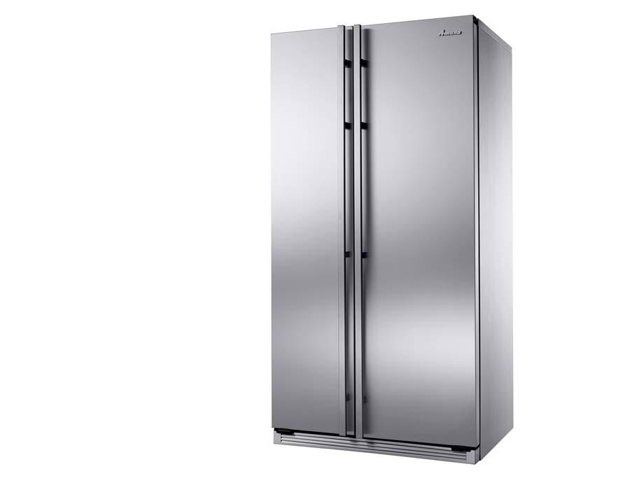 Amana refrigeration silver