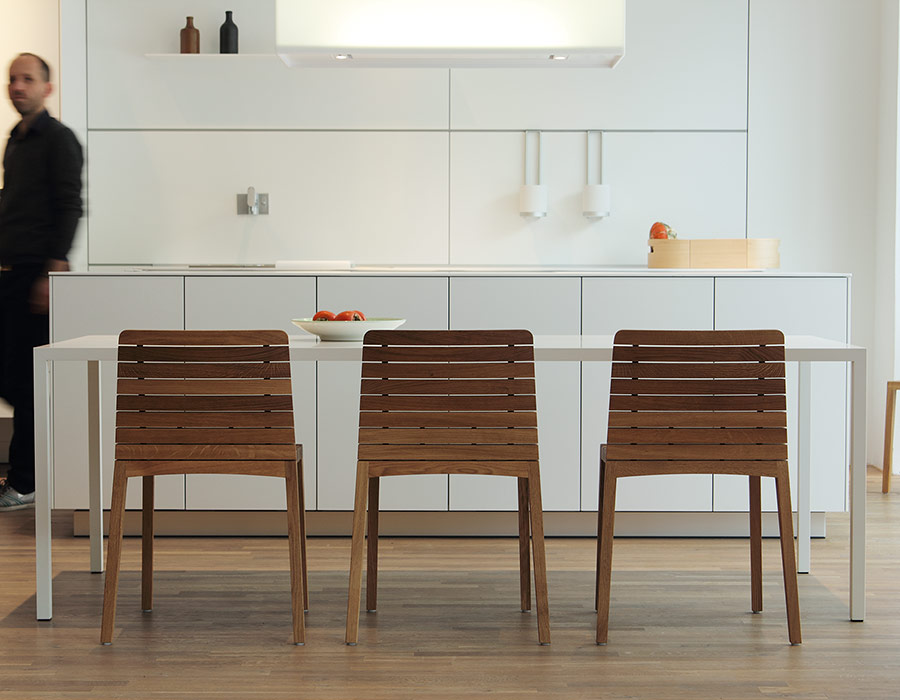 Schneiderschram Rip Chair kitchen interieur