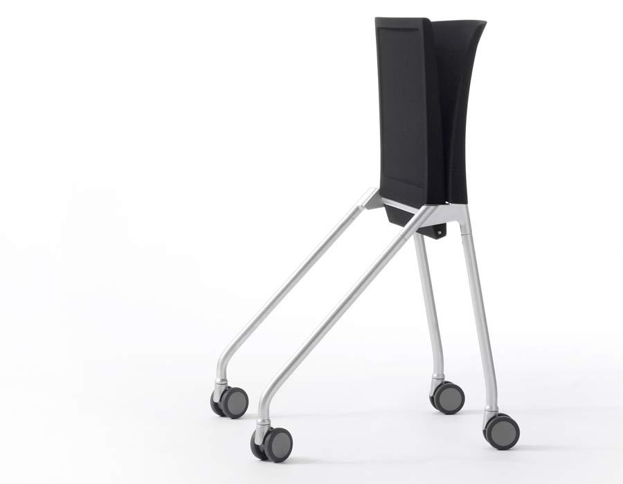 nesting chair calla wilkhahn folded